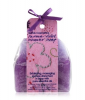 Bomb Cosmetics Parma Violet Shower Soap Massage-Schwamm 1 Stk
