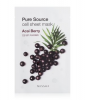 MISSHA Pure Source Cell Sheet Mask Acai Berry Tuchmaske 1 Stk