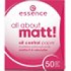 Essence Teint Puder & Rouge All About Matt Oil Control Paper 50 Stk.