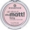 Essence Teint Puder & Rouge All About Silky Matt! Fixing Compact Powder Nr. 10 Translucent Rose 10 g